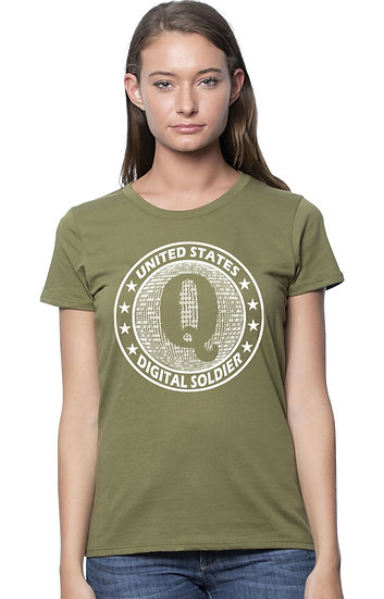 Digital Soldier Women's Cut - USA MADE