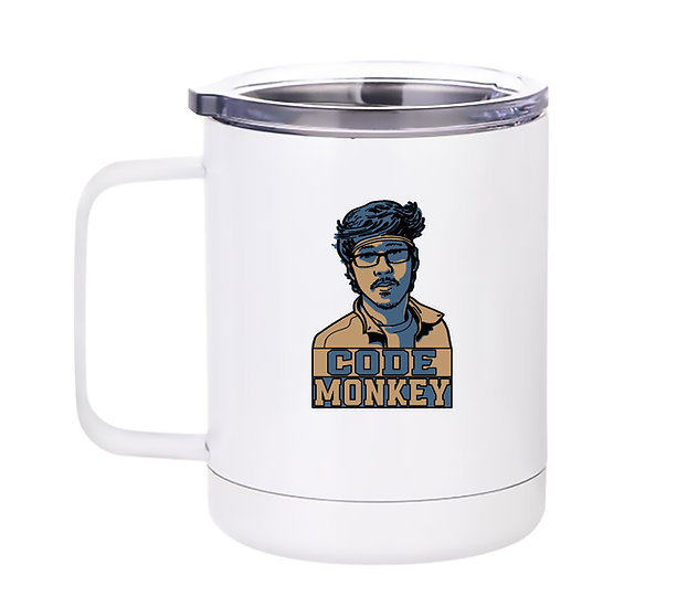 8kun Code Monkey - 10oz Coffee Mug/20oz Tumbler