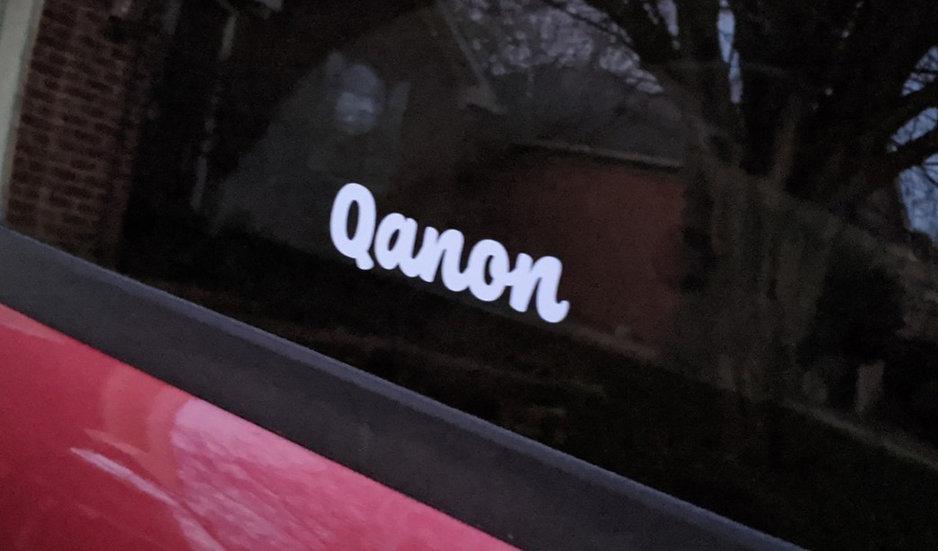 Qanon Window Decal