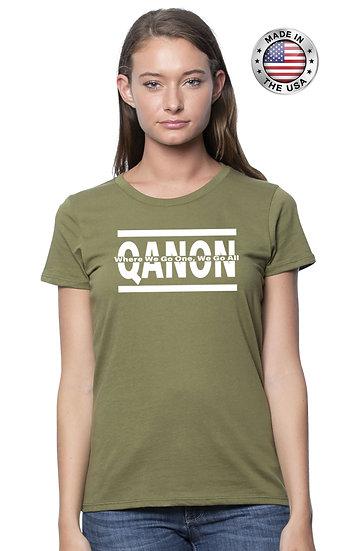 Qanon - WWG1WGA - Women's Cut - USA MADE