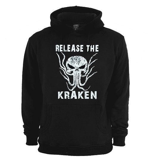 Release The Kraken Black Hoodie