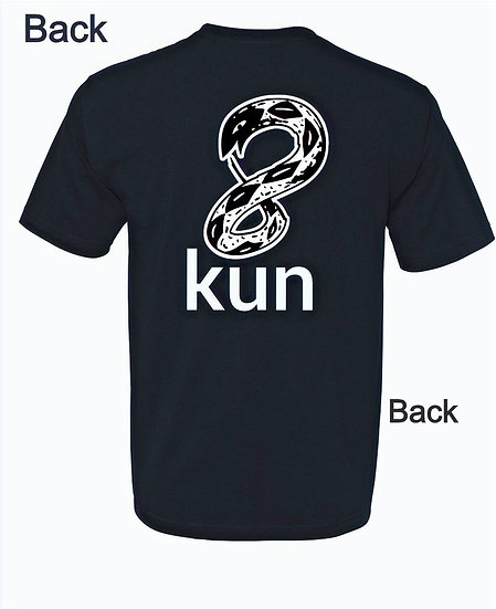 8Kun logo - Black and White