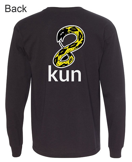 8Kun Yellow Snake Long Sleeve