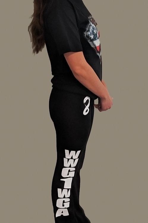 8Kun - WWG1WGA - Yoga Pants - USA MADE