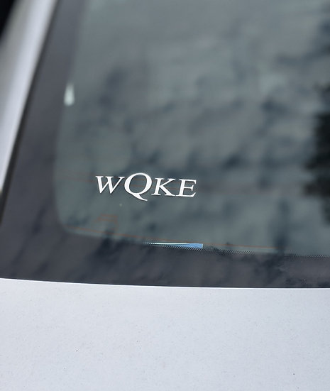 WQKE Window Decal