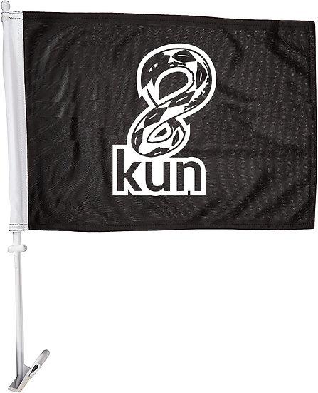 8kun - Car Flag