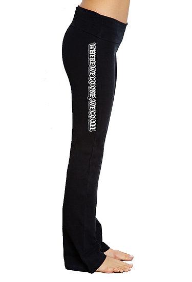 WWG1WGA - Yoga Pants - USA MADE