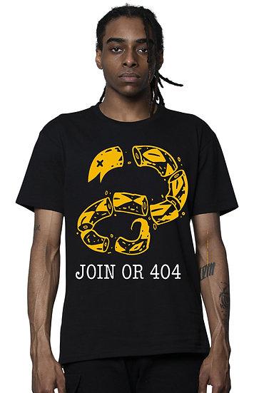 8Kun - Join or 404 - Unisex Heavyweight Tee