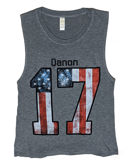 Qanon 17 Jersey Women's Tank Top
