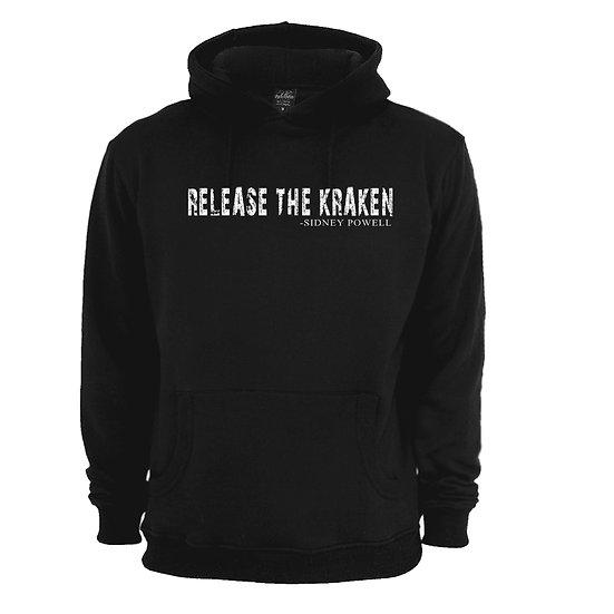 Sidney Powell - Release The Kraken Black Hoodie