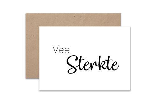 Postkaart 'Sterkte'