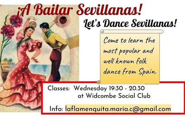 Let's Dance Sevillanas! Olé 😃👏🏼👏🏼👏