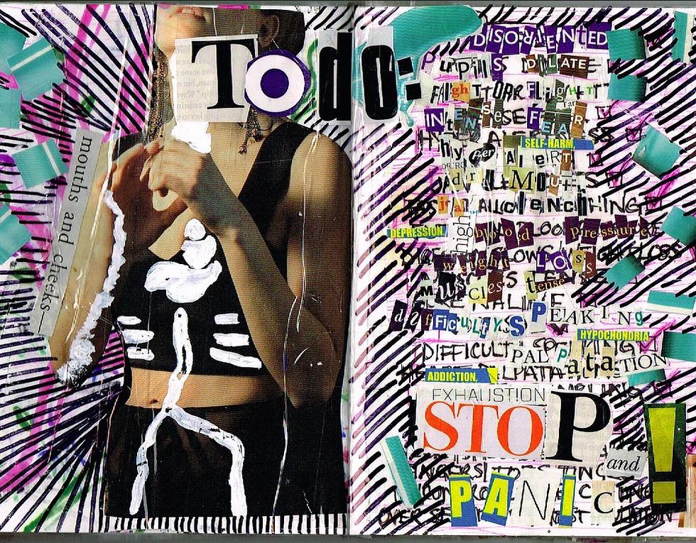 to do: stop and panic!