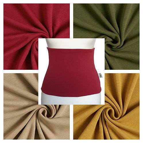 Fleece Back Warmer in Multiple Colors