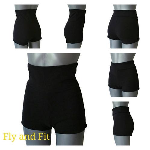 Black Dance and Yoga Shorts