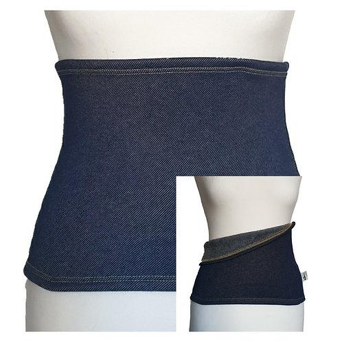 Back Warmer Denim Jeans Fleece
