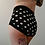 Thumbnail: Black with White Polka Dots Shorts for Pole Dance and Yoga Training
