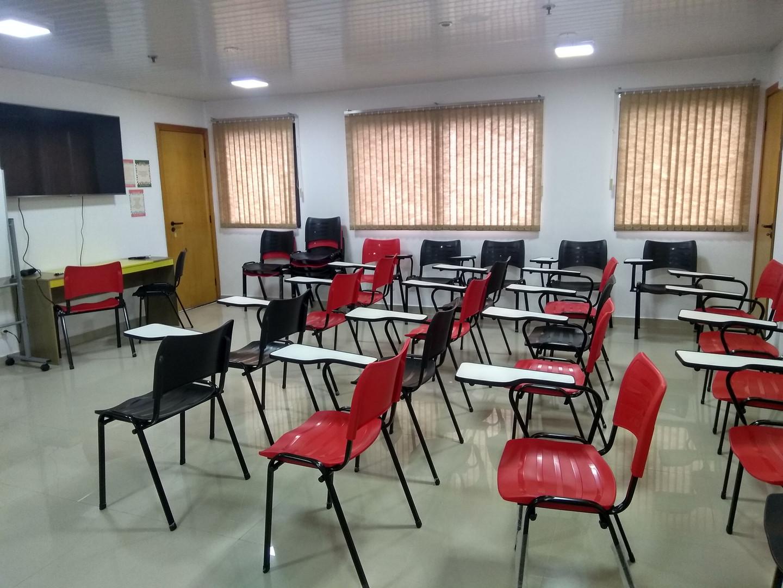 Sala de aula Grupo Trhoca
