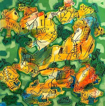 C'est la vie. 30x30-1 March  2007.jpg