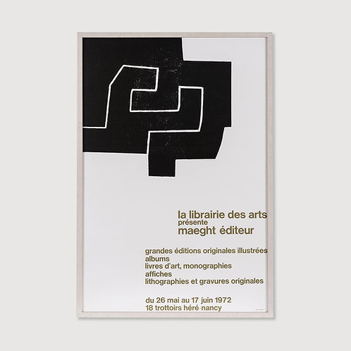 POSTER LIBRAIRIE DES ARTS