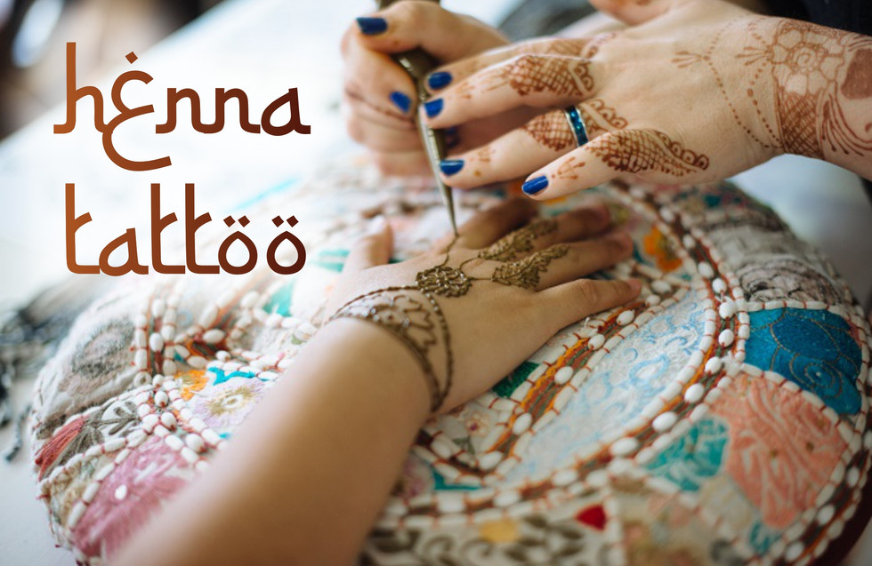 Beautify yourself with Henna