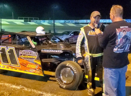 Brad Kling claims 2020 Mid Atlantic Modifieds Championship!!