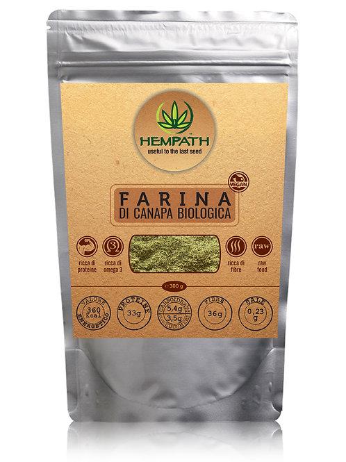 Farina di Canapa Bio 300g (organic hemp flour)