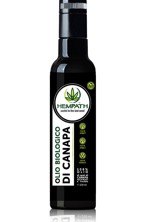 Olio Biologico di Canapa 250ml (Organic Hemp Oil)