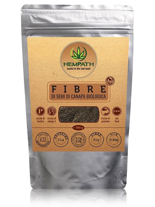 Fibre di Canapa Bio 300g (Organic Hemp Fibres)