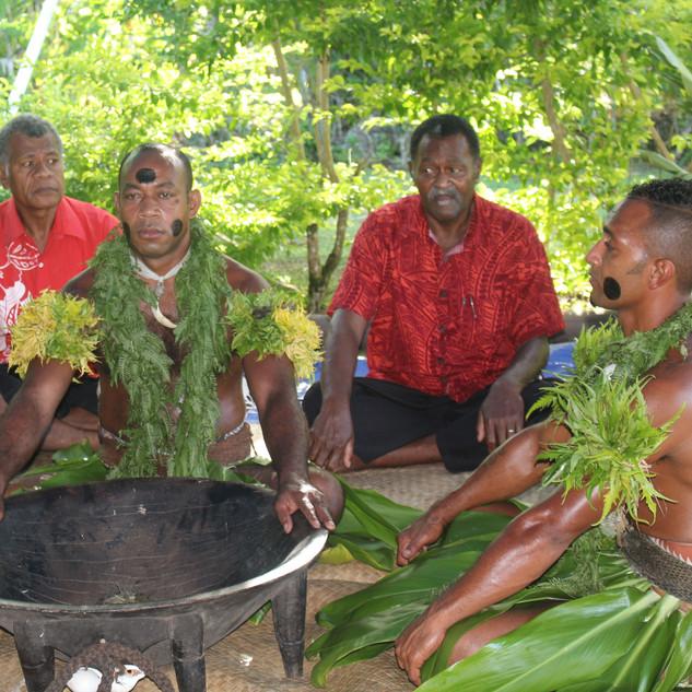 Kava ceremony welcome