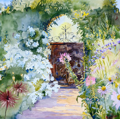 The Gate at Beatrix Farrand Garden