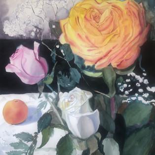 Balancing Act--Roses