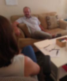 Scott Jones With Client