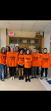 Caring House and teens from our community come together for teen dating violence awareness month in February 2020.