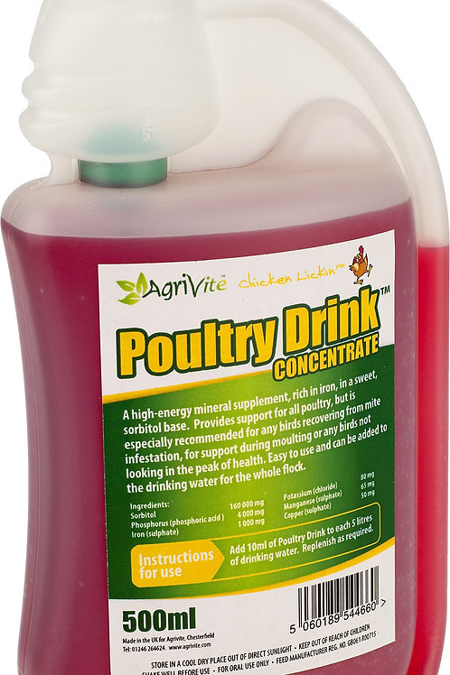 AGRIVITE POULTRY DRINK 500ml