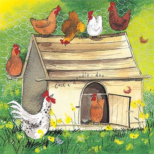 Chicken Coop Card