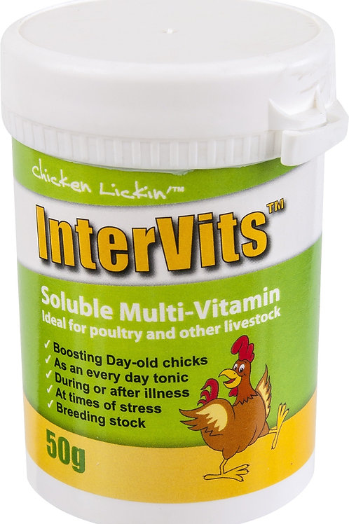 Chicken Lickin' Intervits Soluble Multivits
