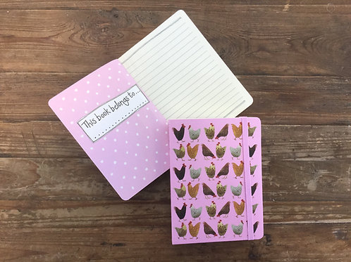 Chickens Small Chunky Notebook