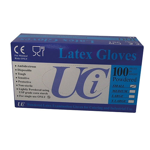 GLOVES LATEX
