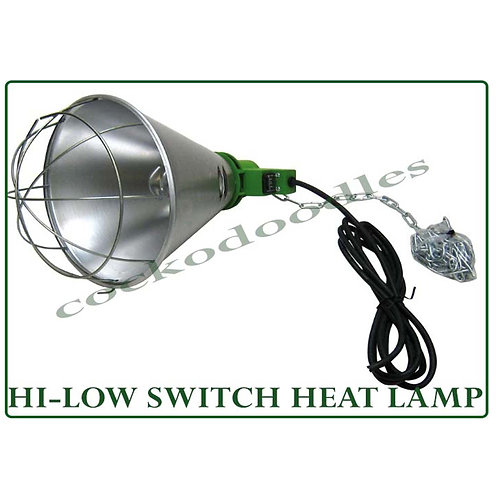 Heat Lamp with Hi/Low Switch