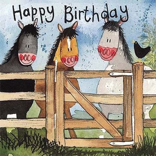 By The Gate Happy Birthday Card