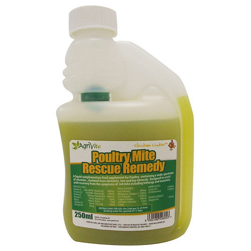 Agrivite Poultry Mite Rescue Remedy - 250 Ml