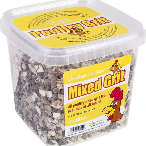 TUSK AGRIVITE MIXED CHICKEN GRIT