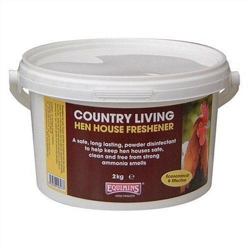 EQUIMINS COUNTRY LIVING HEN HOUSE FRESHENER 2kg