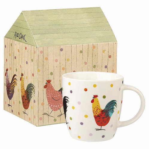 AC Rooster Squash Mug in Giftbox
