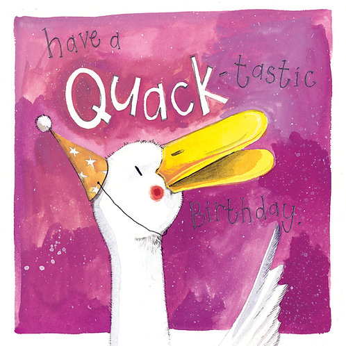 Quack Happy Birthday Card