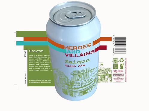 Saigon case x 24 375ml cans