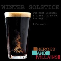 Winter Solstice Black IPA