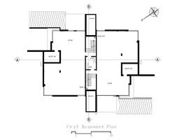 First Basement Plan
