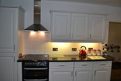 Moved sink and hob